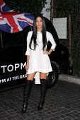Nicole Scherzinger at the Topshop Topman LA Opening Party, Cecconis, West Hollywood, CA 02-13-13