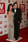 HOLLYWOOD - AUGUST 27: Jennifer Love Hewitt and Ross McCall at the TV Guide Emmy After Party at Soci