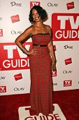 HOLLYWOOD - AUGUST 27: Garcelle Beauvais at the TV Guide Emmy After Party at Social August 27, 2006 in Hollywood, CA.