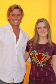 HOLLYWOOD - NOVEMBER 05: Christopher Atkins and Brittney Bomann at Bogart Backstage 2006 Children's