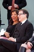 Grace Hightower, David O. Russell at the Robert De Niro Hand and Foot Print Ceremony, Chinese Theate