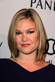 Julia Stiles at the Hollywood Reporter Celebration for the 85th Academy Awards Nominees, Spago, Beve