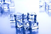 Cubes of ice