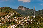 Rio de Janeiro Mountains with Slums