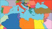 Mediterranean Region, Countries