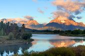 Oxbow Bend At The Grand Tetons