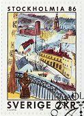 Stockholm Stamp