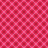 Plaid fabric background with white and pink. Abstract seamless vector pattern.