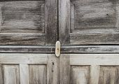 Old Wood Door Background
