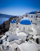 Beautiful Island of Santorini