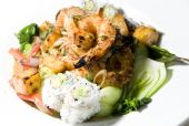 Grilled Lemon Grass Shrimp Thai Food