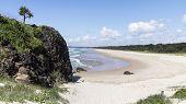 Fingal Head Beach in Australia, New South Wales
