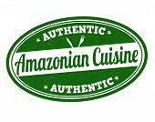 Amazonian Cuisine Stamp