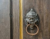 Thai Temple Door