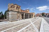 San Vicente Basilica In Avila, Spain