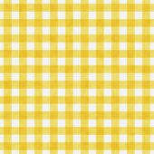 Bright Yellow Gingham Pattern Repeat Background