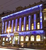 Christmas Night In St. Petersburg