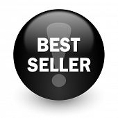 best seller black glossy internet icon