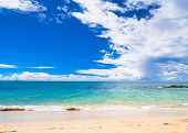 White Sand Heavenly Blue