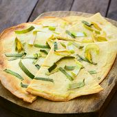 French Tarte Flambee