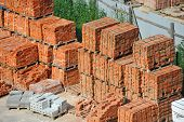 Stack of brick