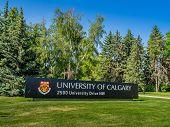 University of Calgary entrance sign