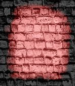 dark brick wall textured background