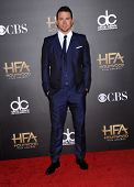 LOS ANGELES - NOV 14:  Channing Tatum arrives to the The Hollywood Film Awards 2014 on November 14, 2014 in Hollywood, CA