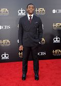 LOS ANGELES - NOV 14:  Chadwick Boseman arrives to the The Hollywood Film Awards 2014 on November 14, 2014 in Hollywood, CA