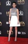 LOS ANGELES - NOV 14:  Kristen Stewart arrives to the The Hollywood Film Awards 2014 on November 14, 2014 in Hollywood, CA