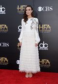 LOS ANGELES - NOV 14:  Keira Knightley arrives to the The Hollywood Film Awards 2014 on November 14, 2014 in Hollywood, CA