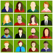 People Icon Set