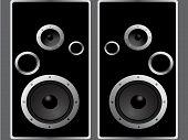 Speaker. Vector element for design.