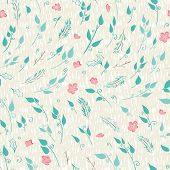 Floral Seamles Pattern.