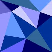 Vector triangle navy, blue and grey background or pattern design chevro