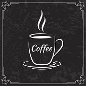 Coffee design  for menu