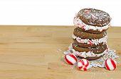Christmas whoopie pie