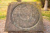 Sun-dial In Ruins Of Zvartnots Temple