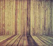 vintage wooden room, retro film filtered, instagram style