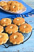 Butter Biscuits In The Shape Of A Flower