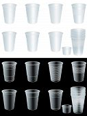 Transparent Cups