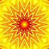 Yellow-red star background