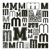 Set Versions Of Letters M