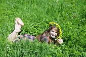 Barefoot Teen Girl