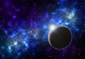 Planet Galaxy Nebula