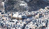 Brasov Old City Aerial View