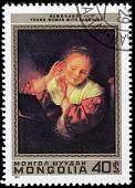 Rembrandt Stamp