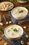 Homemade New England Clam Chowder