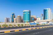Shaikh Hamad Causeway. Manama, Bahrain