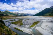 Arthur's Pass River, New Zealand.